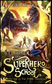 Welcome To Superhero School Front Cover (1)